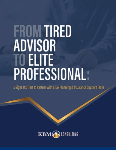From Tired Advisor to Elite Professional